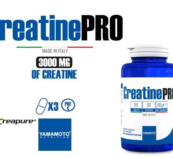 Yamamoto® Nutrition Creatine PRO Creapure® Quality