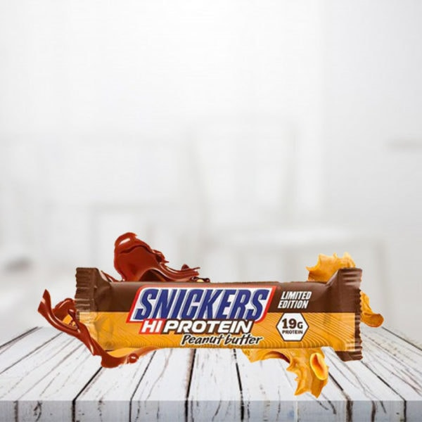 Snickers Protein Bar Peanut Butter Limited Edition