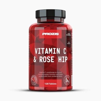 Vitamin C 1000 mg + Rose Hip 120 tabs