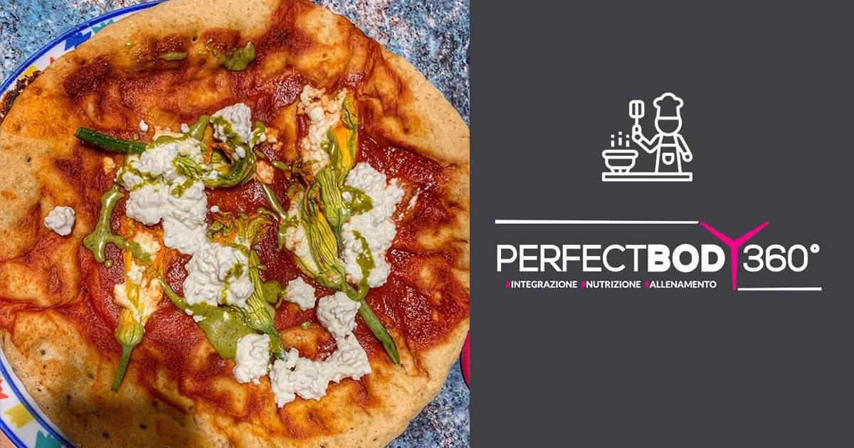 Pizza Rima con Fiori di Zucca