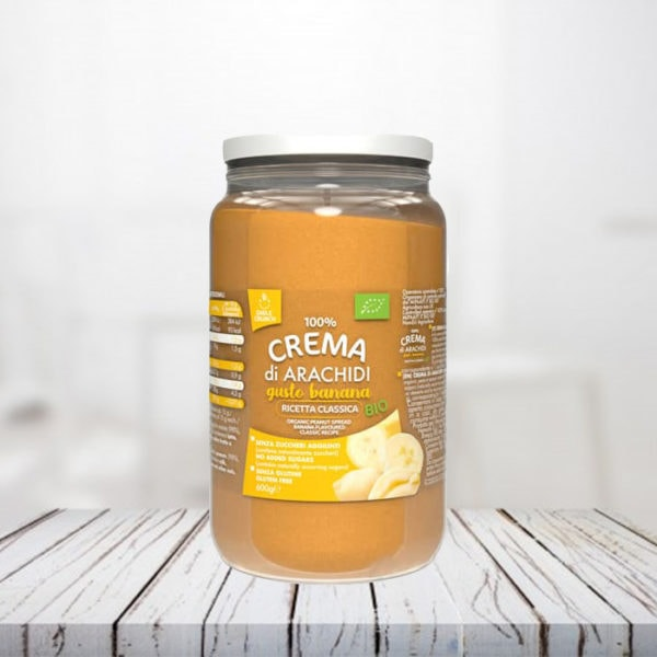 crema di arachidi gusto banana