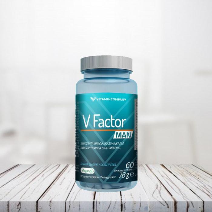 V-Factor Man 60 cpr