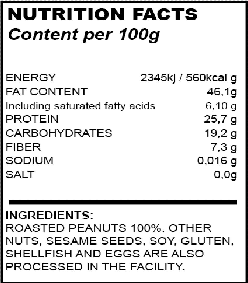 valori peanut butter