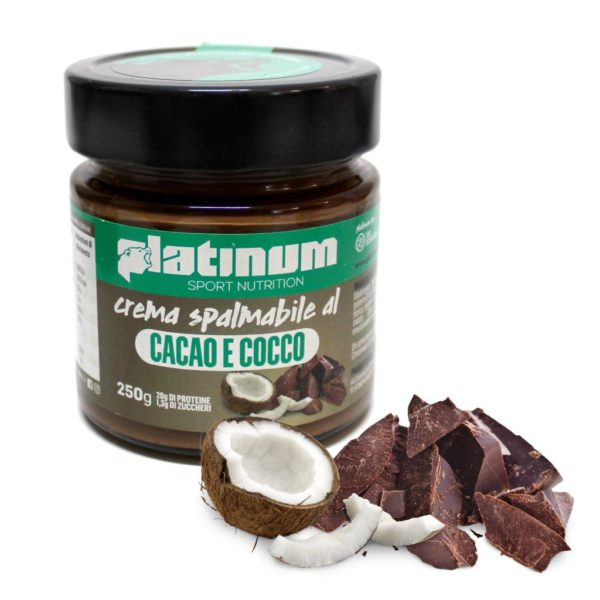 Crema Spalmabile Cacao e Cocco – 250g