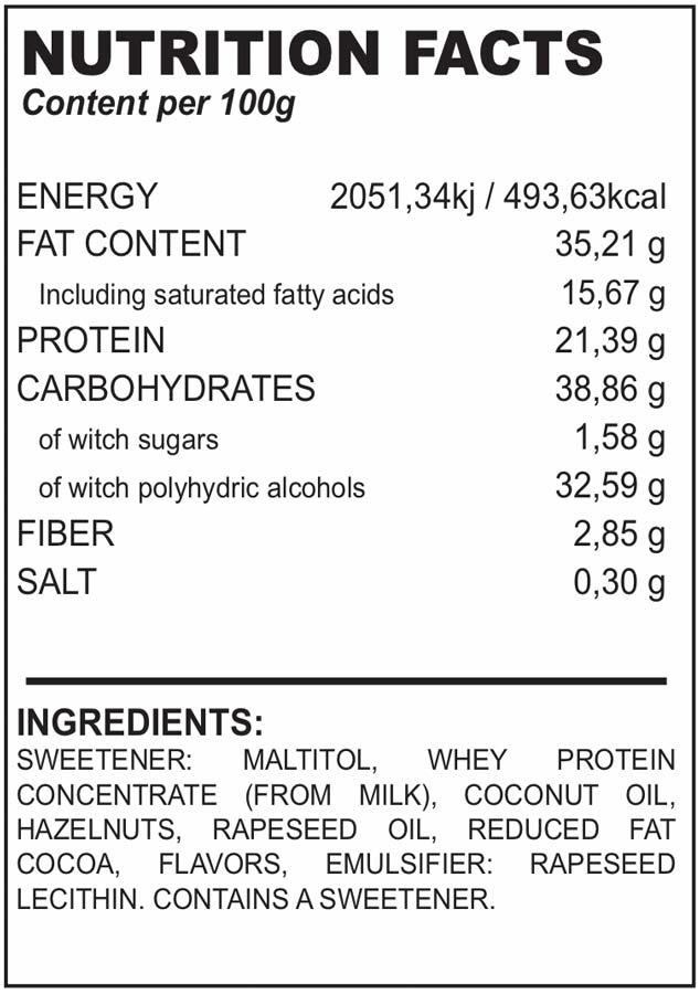 protella ingredienti