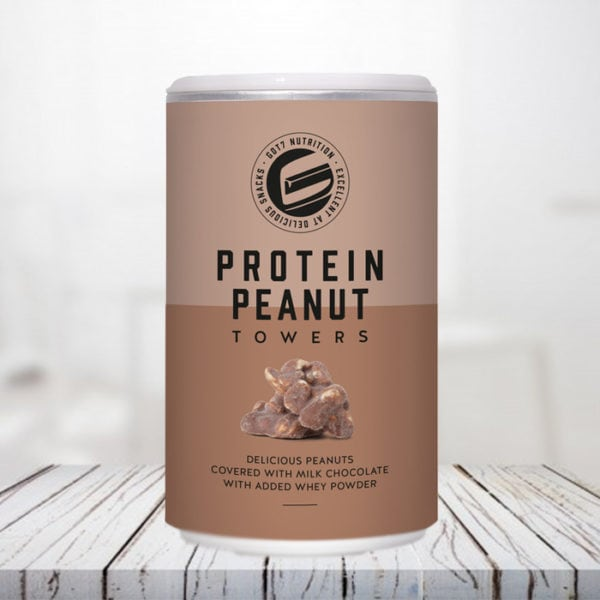 Protein Peanut Towers