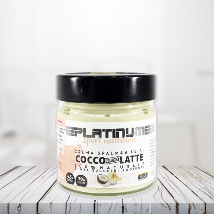 Crema Cioccolato Bianco Cocco Crunchy