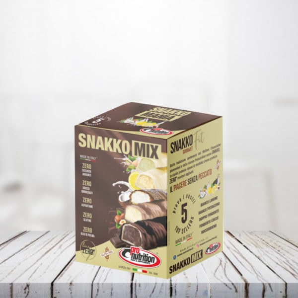 Snakko Fit Box Mix 5 pezzi