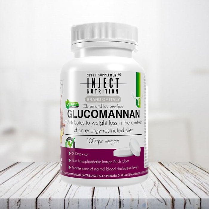 Glucomannan inject nutrition