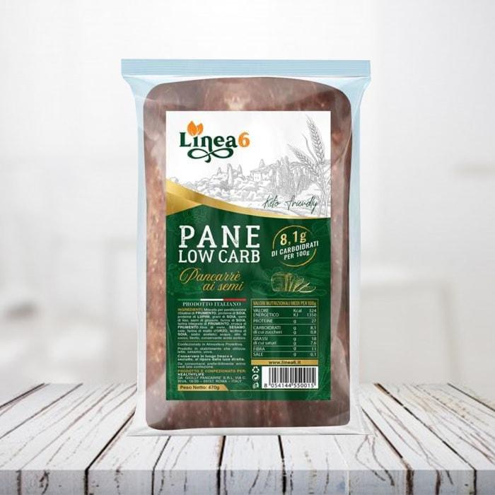 pane low carb linea 6