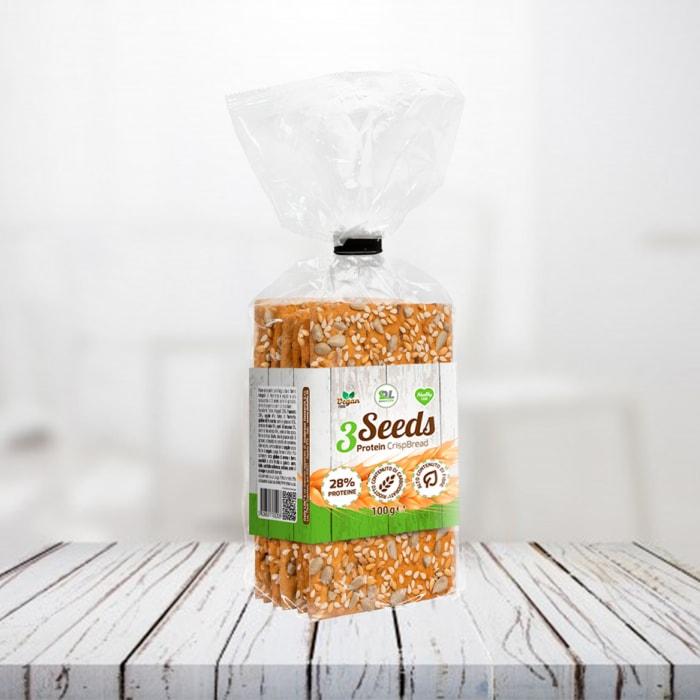 3Seeds Crisp Bread