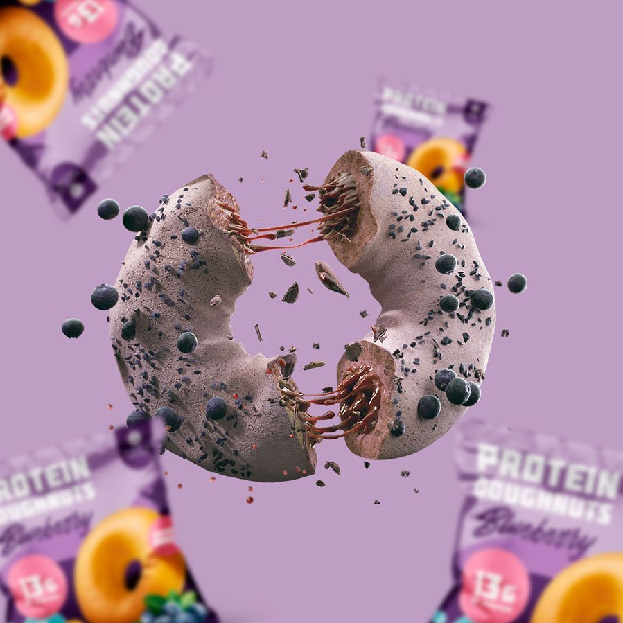 Alasature Protein Doughnuts Blueberry