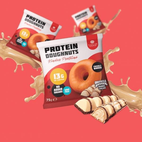 Alasature Protein Doughnuts Kinder