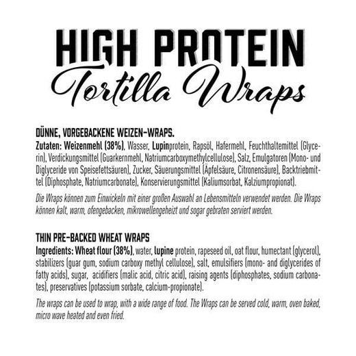 Ingredienti Tortilla Wrap
