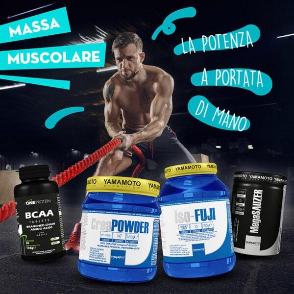 pacchetto massa muscolare