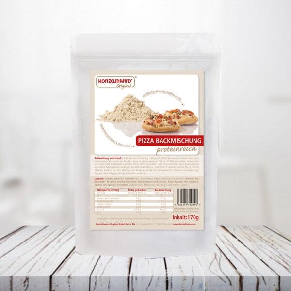 La Pizza Proteica di Konzelmann