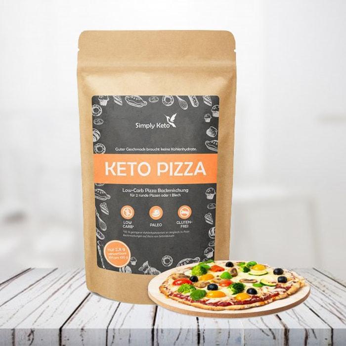 preparato per pizza keto
