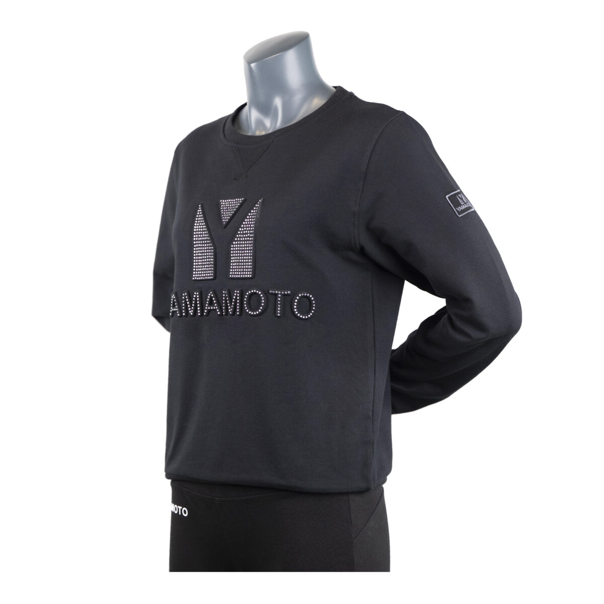 Lady Sweatshirt Embossed with Strass