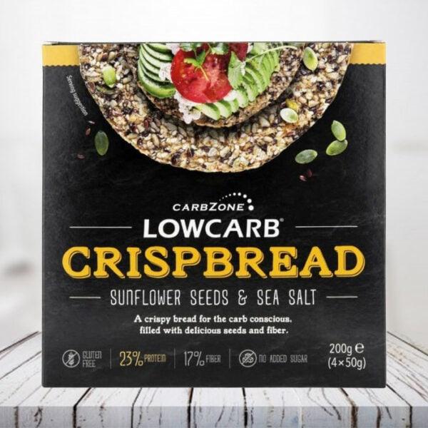 Pane croccante Low Carb - Girasole e sale marino