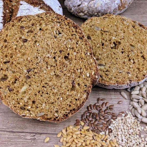 Preparato per Panini Low Carb ai 4 Cereali Adams Brot