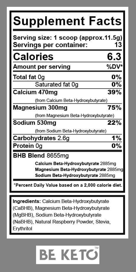 fattori nutrizionali chetoni esogeni